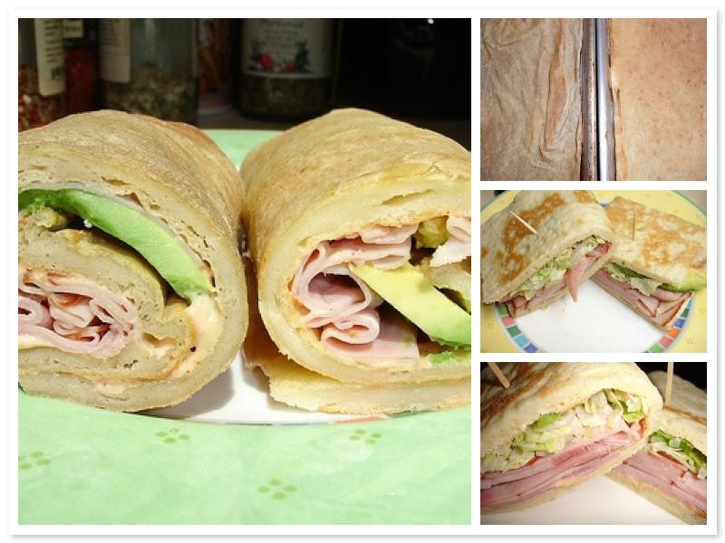 Gluten Free Sandwich Wrap Experiment